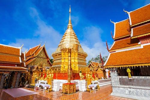 Tailandia en imágenes: Wat Phra That Doi Suthep