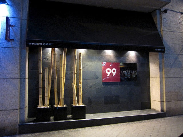 99 sushi bar en Madrid