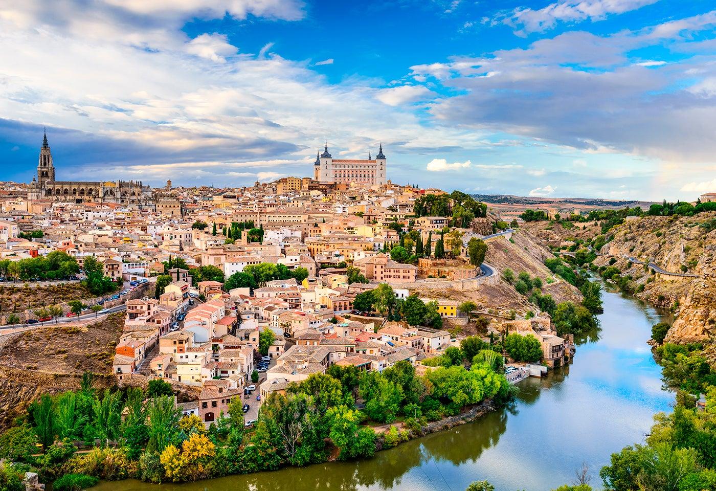 Río Tajo en Toledo
