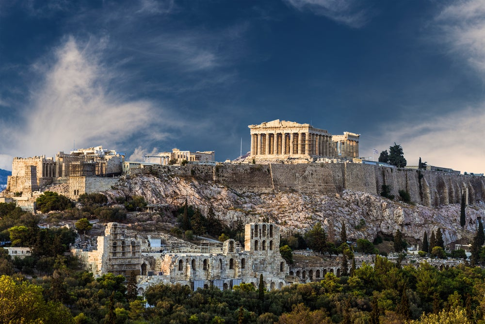 Atenas en Grecia uno de los destinos para viajar solo