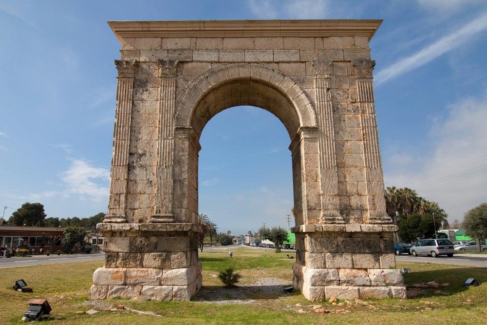 Arco de Bará en Tarragona