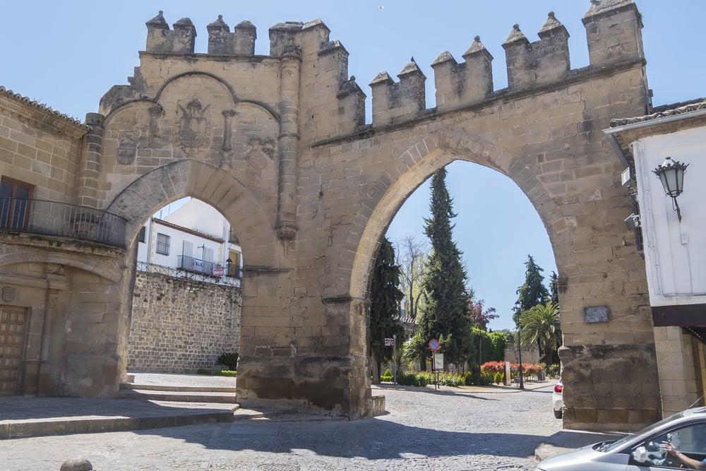 Arco de Villalar en Baeza