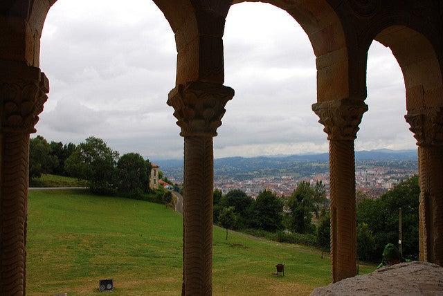 Vista desde Santa María del NAranco