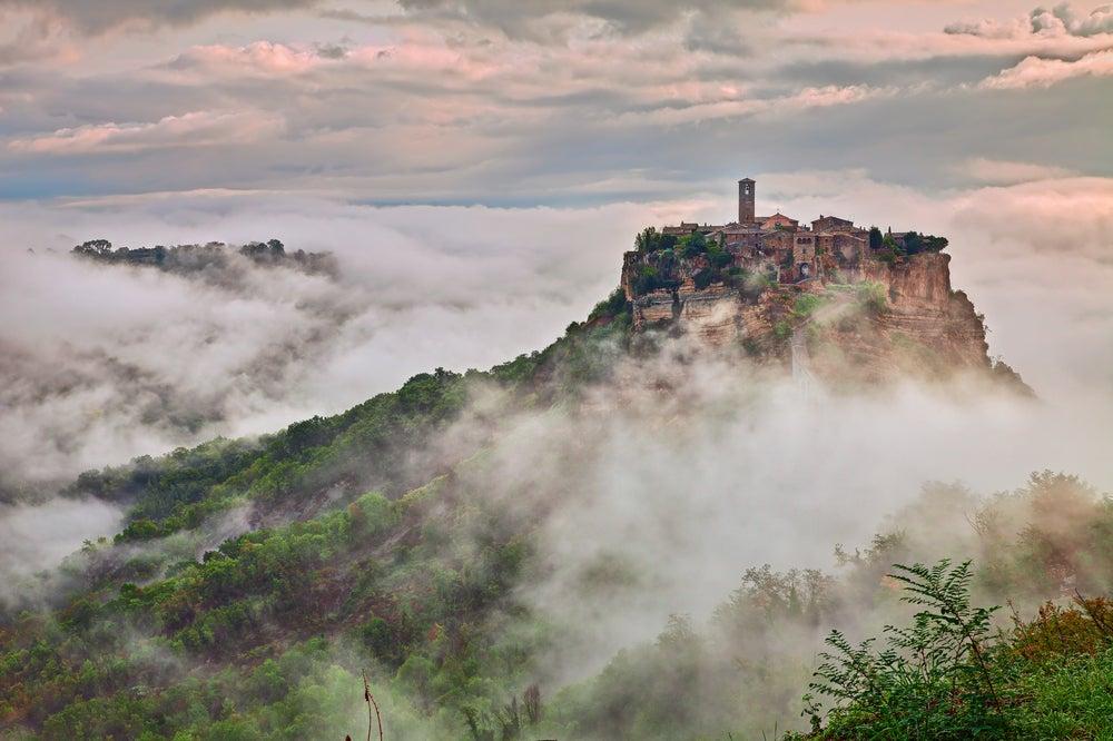 Bagnoregio en Italia