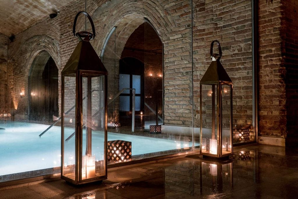 Baños árabes Barcelona