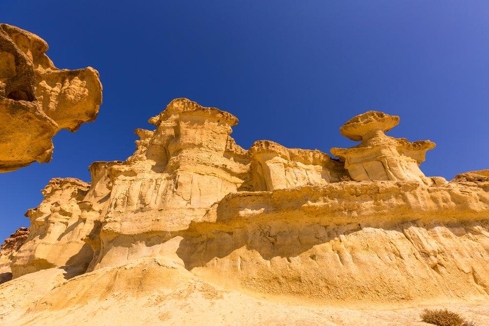 Erosiones de Bolnuevo en Mazarrrón