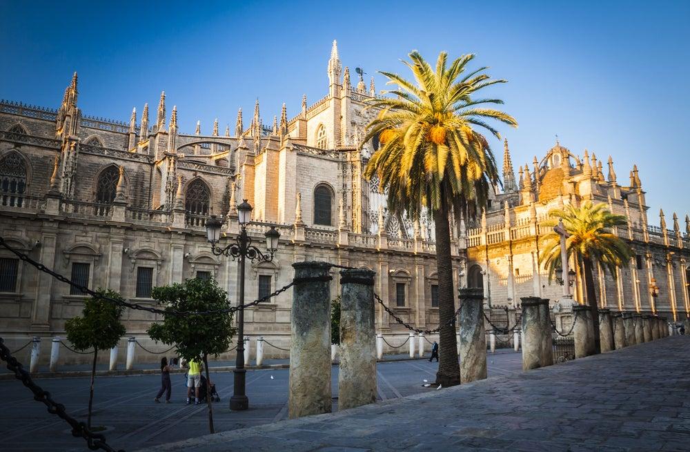 Cadenas, una de la curiosidades de la catedral de Sevilla