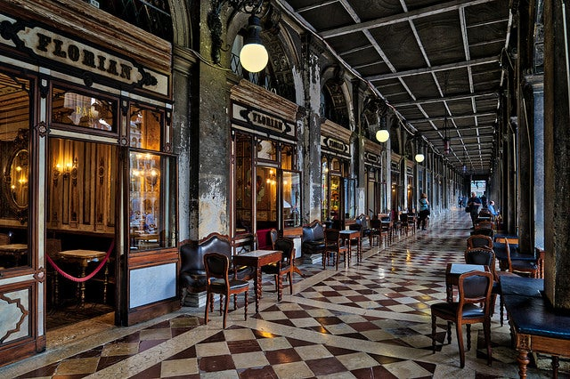 Caffè Florian en Venecia