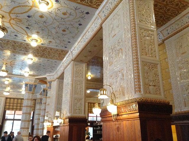 Café imperial de Praga