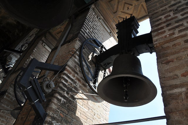 Campana en la Giralda de Sevilla