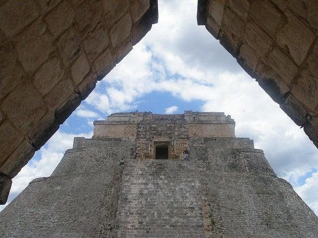 Casa del Adivino en la ciudad de Uxmal
