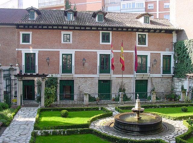 Casa Museo de Cervantes en Valladolid