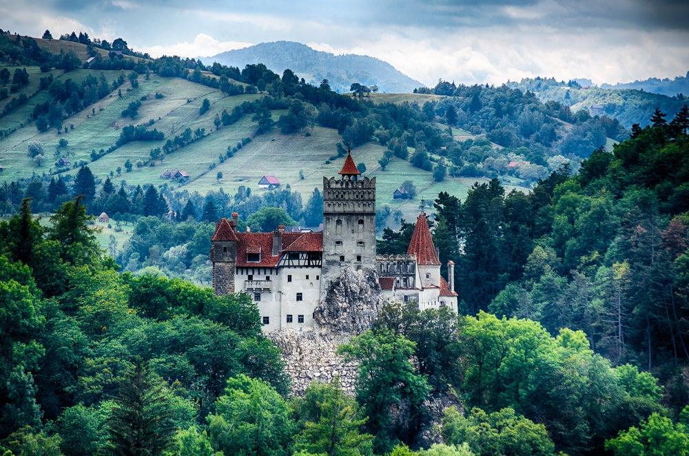El castillo de Bran, más conocido como… el castillo de Drácula