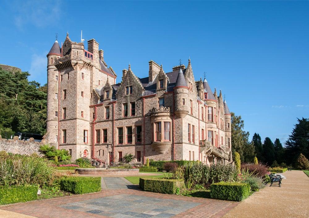 Descubrimos la historia del castillo de Belfast