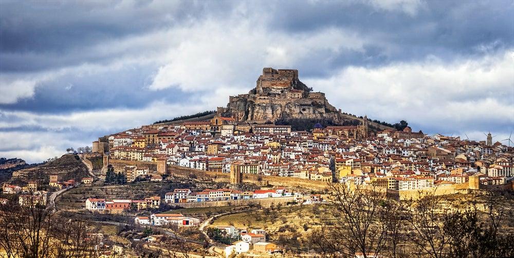 Castillo de Morella en la provincia de Castellón