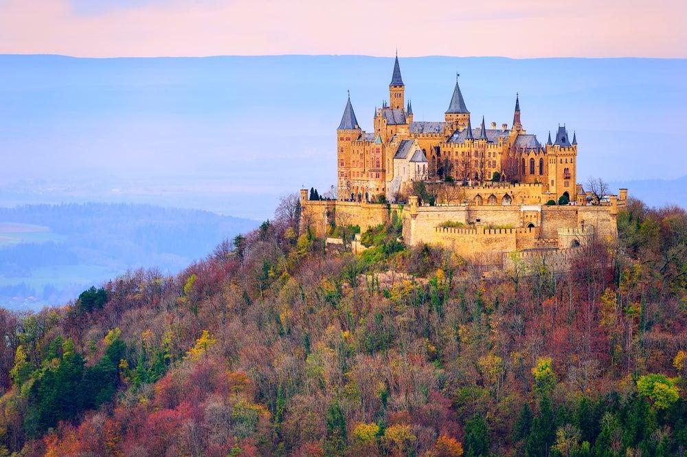 Castilllo de Hohenzollern en la Selva Negra