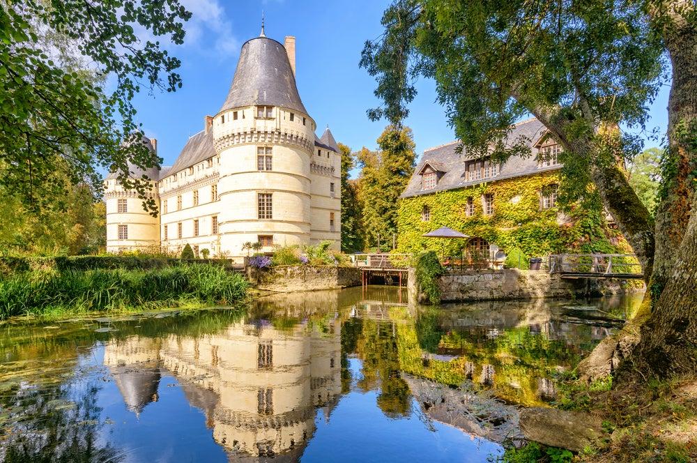 Castillo en el Valle del Loira