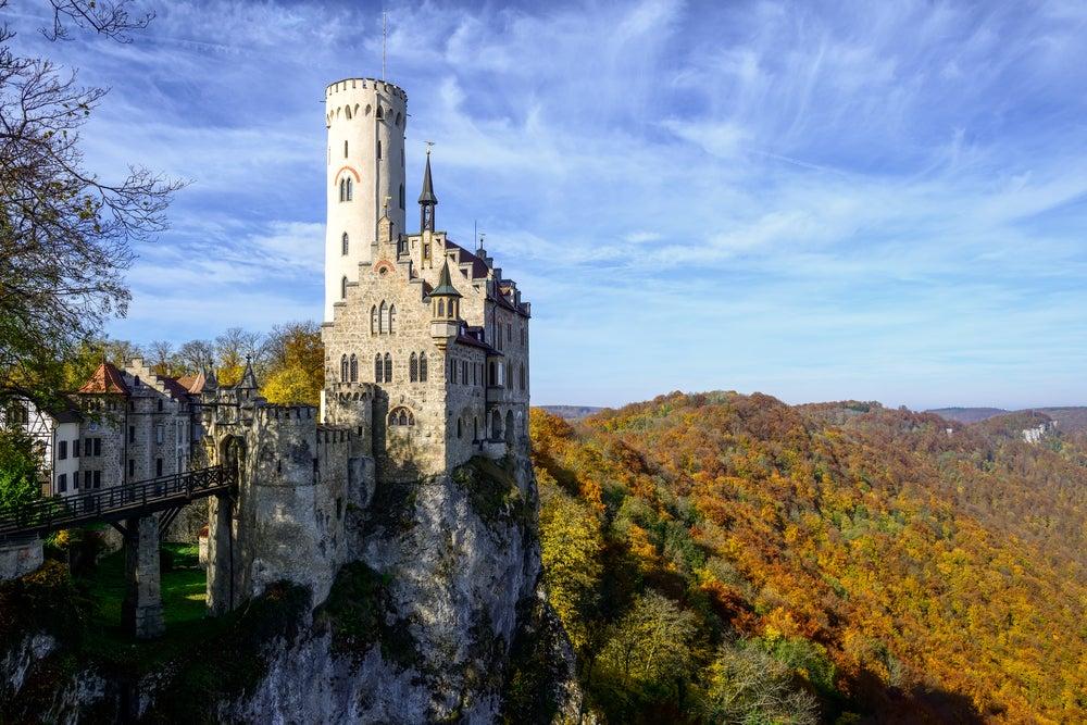 Castillo de Lichtenstein en la Selva Negra
