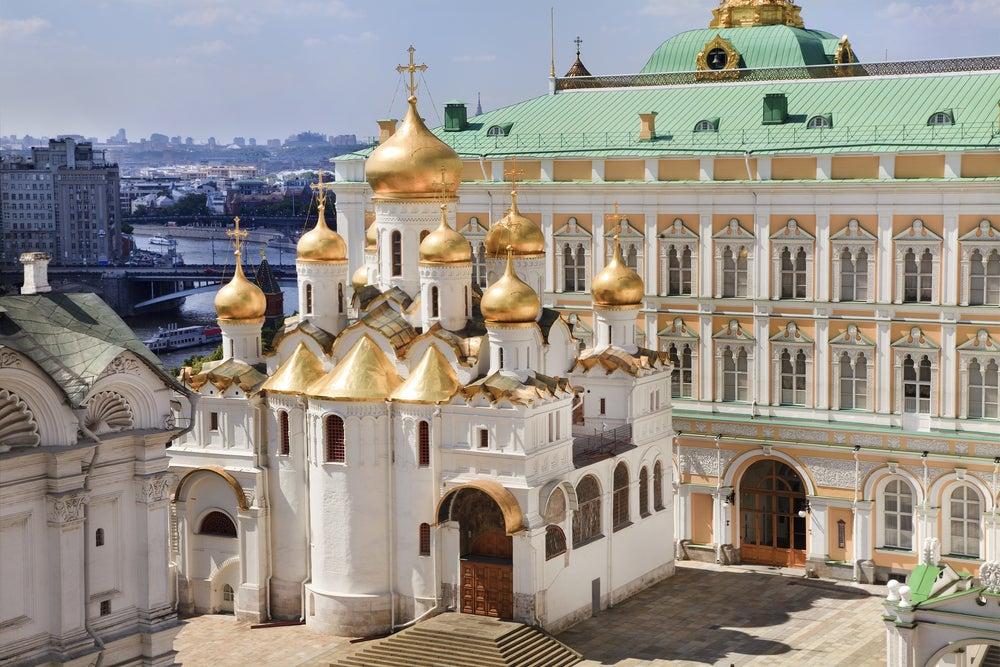 Catedral de la Anunciación en el Kremlin
