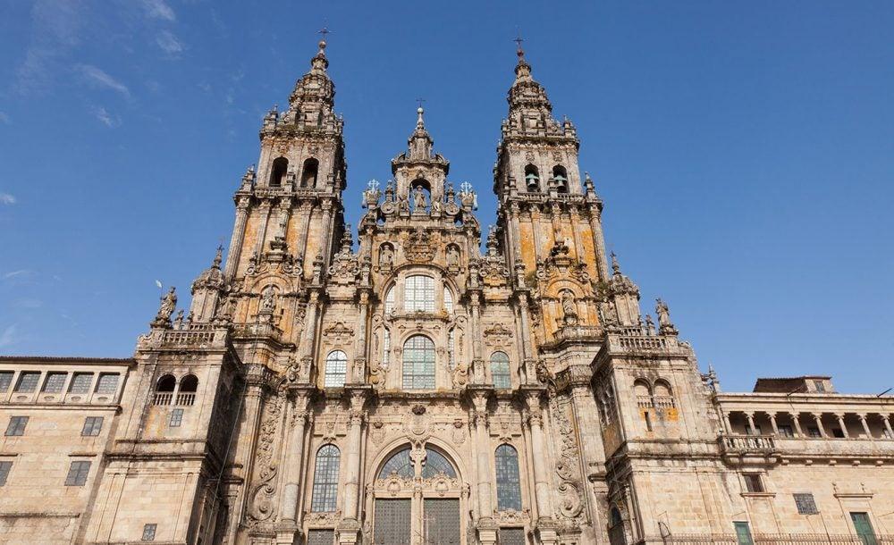 Santiago de Compostela, una de las catedrales más famosas del mundo