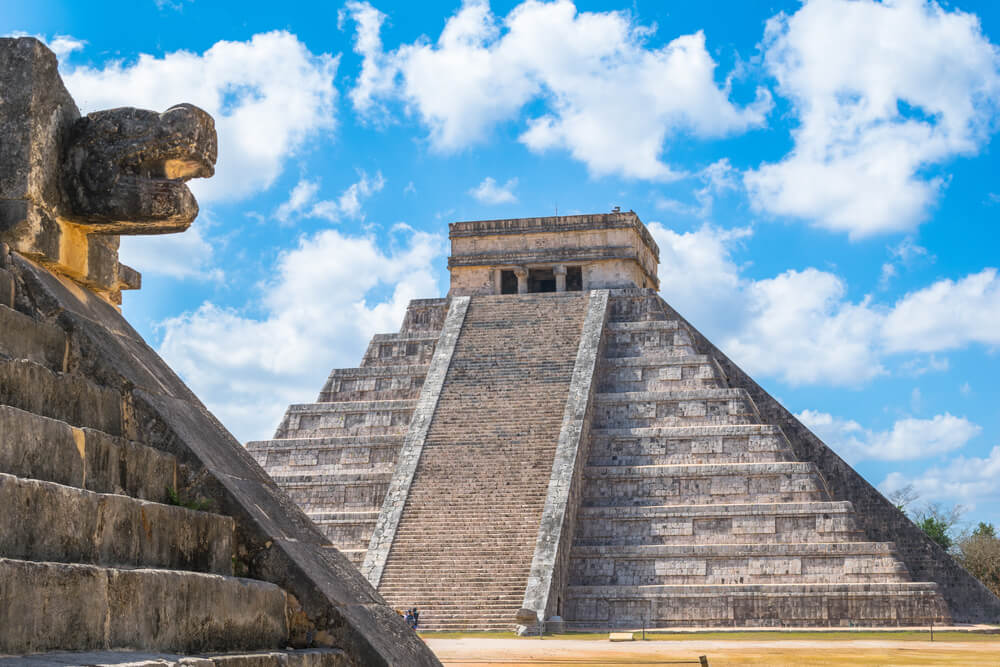 Chichén Itzá en un viaje a México