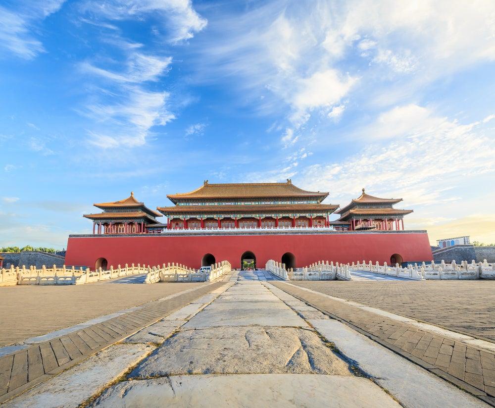 Acceso al Palacio Imperial de Pekín