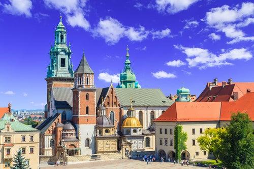 Colina de Wawel una de las cosas que ver en Cracovia