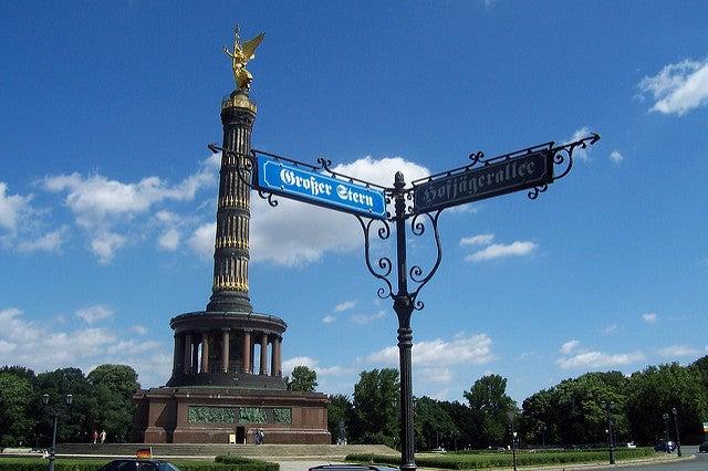 Dónde comer cerca de la Columna de la Victoria de Berlín