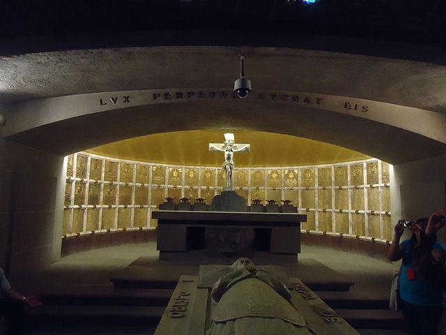 Cripta de los Arzobispos de la Catedral Metropolitana de México