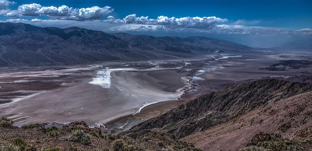 Death Valley, uno de los parques nacionales de Estados Unidos