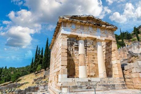 Templo en Delfos