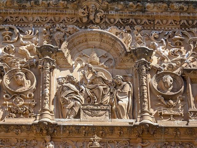 Detalle de la Universidad de Salamanca