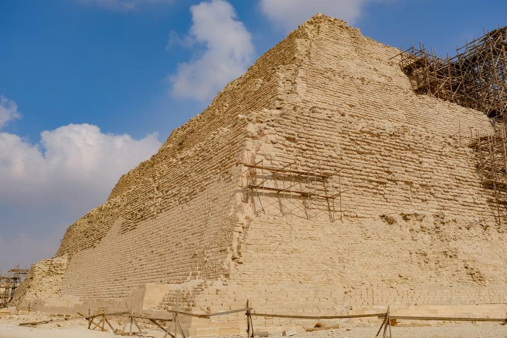Pirámide escalonada de Zoser