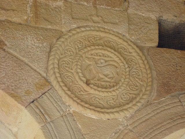 Detalle en Santa María del Naranco