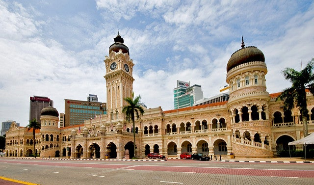Edificio del sultán Abdul Samad en Kuala Lumpur