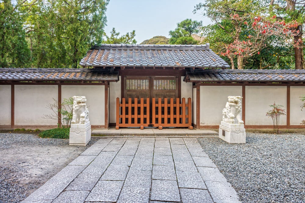 Entrada al templo Kotokuin
