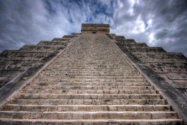 Escalera de Chichén Itzá