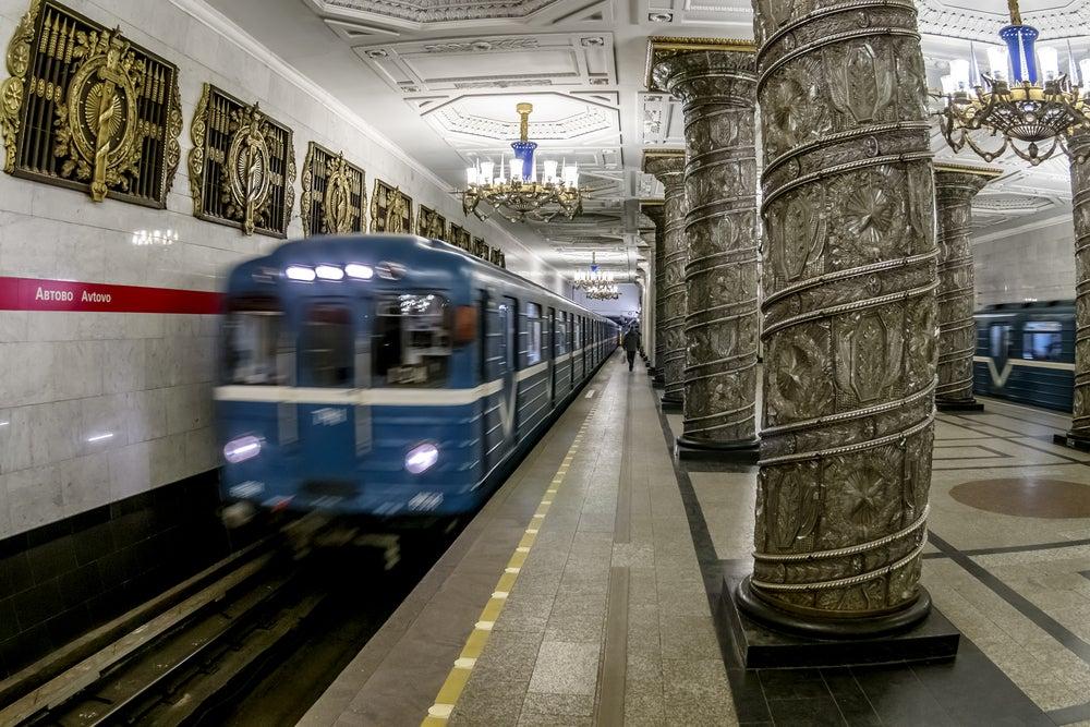 Estación de Avtovo en San Petersburgo