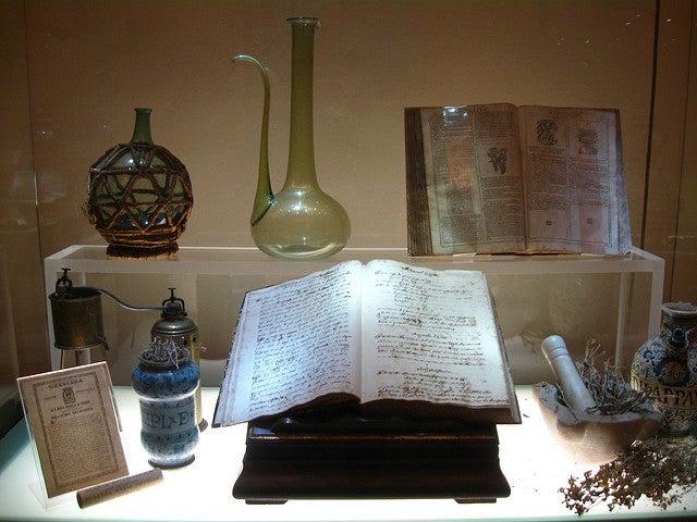 Farmaceutica Santa Maria Novella en Florencia