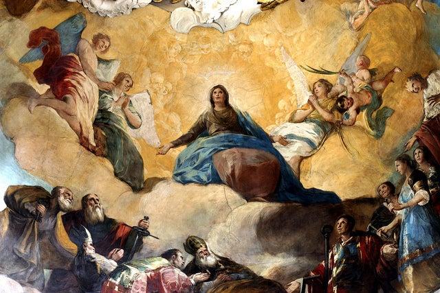 Frescos de Goya en la Basílica del Pilar