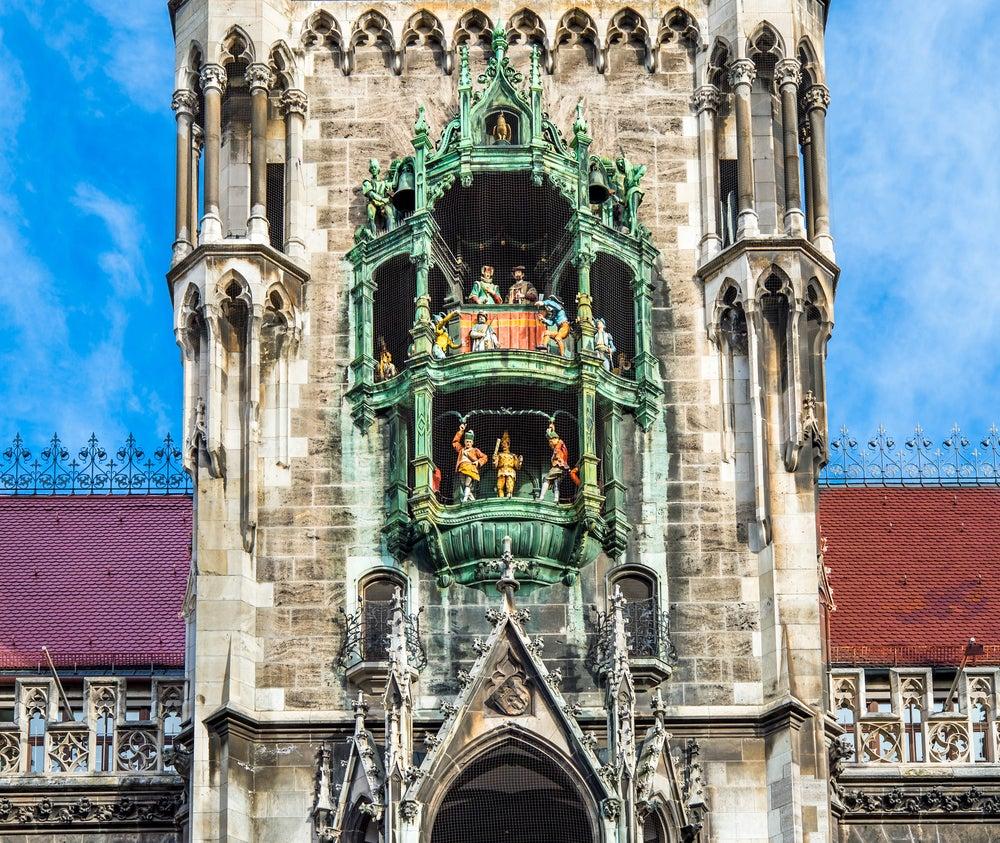 Glockenspiel en Munich