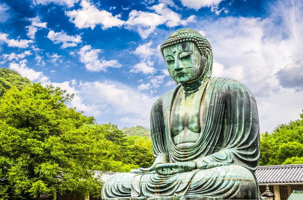 Gran Buda en el Templo Kotokuin