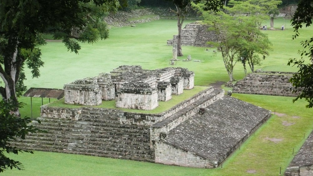 Gran Plaza de Copán en Honduras