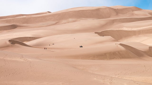 PArque Nacional Great Sand Dunes en Estados Unidos