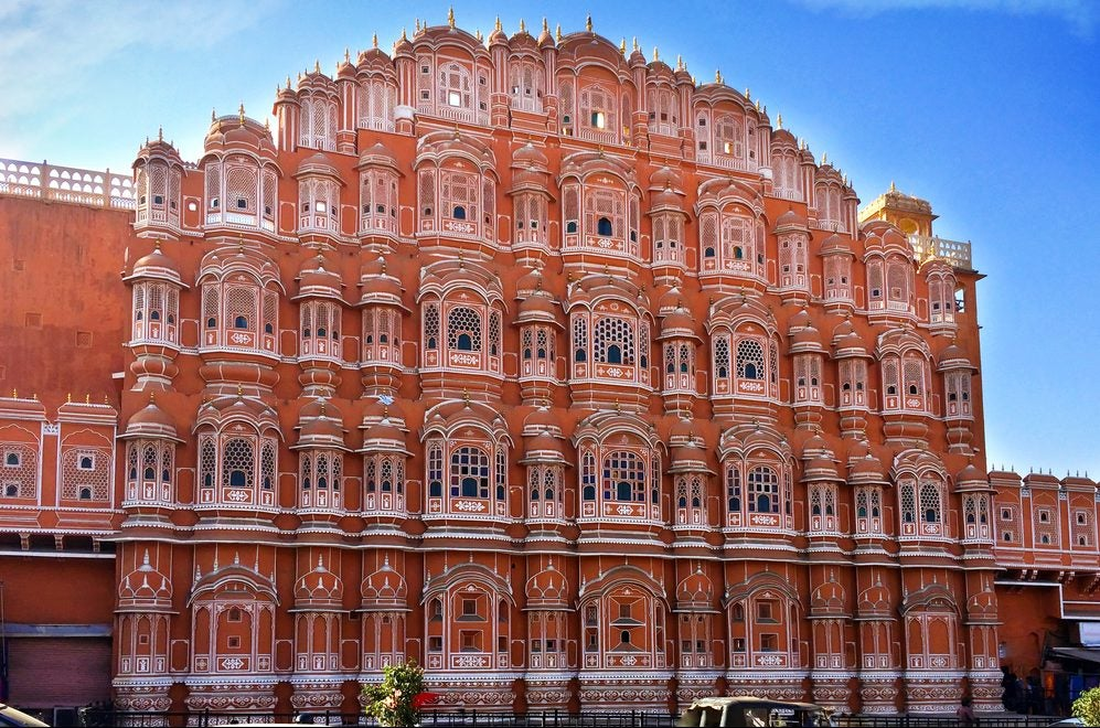 Una visita al espectacular Hawa Mahal de Jaipur