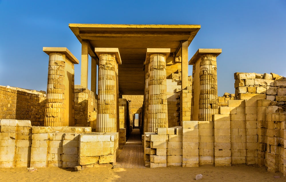 Hipóstilo en Saqqara