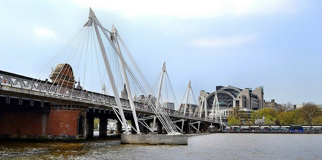 Puente Hungerford en Londres