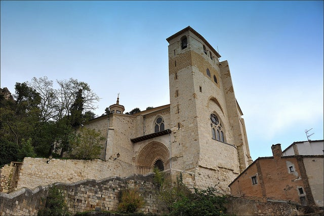 Iglesia de San Pedro de la Rúa en Estella