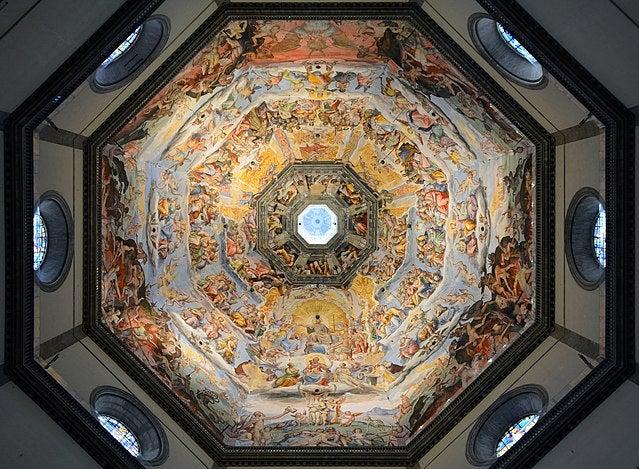 Frescos de la cúpula del duomo de Florencia