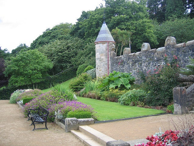 Jardín del castillo de Belfast